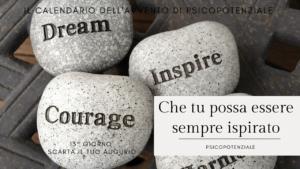 [Ep. 027] Che tu possa essere sempre ispirato
