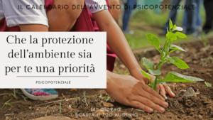 [Ep. 028] Che la protezione dell'ambiente sia per te una priorità
